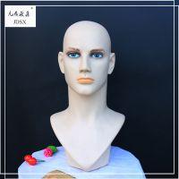 九鼎晟鑫 PVC模特头 男人头 假发 配饰 展示道具 精品头模 可定制 厂家直销