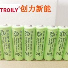 太阳能草坪灯专用用镍氢充电电池,TROILY AA200电池,厂家直销