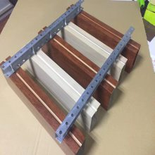 福田汽车专卖店室内吊顶铝方通设计施工安装-欧百建材