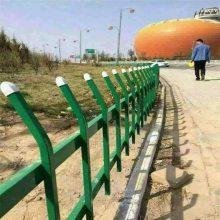 pvc锌钢草坪护栏 靖江草坪护栏 铸铁围墙栅栏