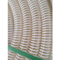 供应PU塑筋增强软管/防静电软管/聚氨酯塑筋螺纹管/抛丸机吸尘管/塑料波纹管
