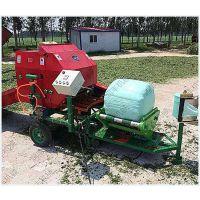 润丰新产品 青贮饲料打捆包膜机 可加工小麦玉米秸秆及牧草