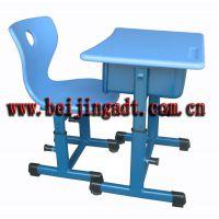 学校家具 升降课桌椅 ABS注塑桌面 钢管桌架 环保喷塑 批发优惠