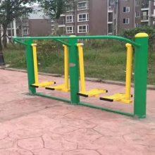 威海双人平步机健身器材出厂价,公园健身器材经销,大量现货