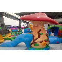 广州润乐水上设备-蘑菇滑梯