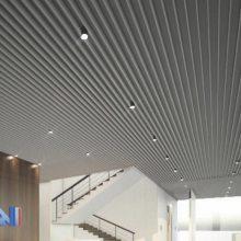 温州方管铝型材 25x100凹槽铝方通 铝型材图片 挤压铝型材厂家