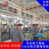 工厂都在使用兴万达esop系统/生产产能看板系统/无纸化车间