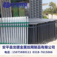 围墙护栏价格 锌钢围栏黑色 围栏锌钢厂家