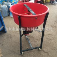 中宁小型混料混合设备 拓锐化肥大蒜拌种机