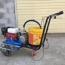 合肥塑胶跑道喷线机 富兴冷喷道路标线机 小区道路停车场画线机哪里有卖
