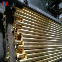 厂家直销国标环保H62黄铜棒 易车毛细铜管 海军黄铜棒