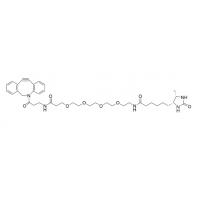 超纯、高纯DBCO-PEG4-Desthiobiotin,二苯基环辛炔-PEG4-脱硫生物素