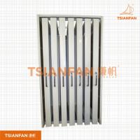 宜度钢材推拉门展柜 门展示架 抽拉式展示柜 D002