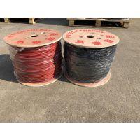 TUV认证光伏电缆 CE认证光伏电缆 厂家特供光伏4平方直流电缆