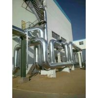 脱硫装置彩板外护保温施工,回收装置高铝不锈钢板保温施工