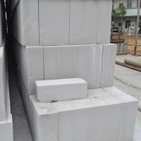 广州加气轻质砖 100MM混凝土隔墙砖批发