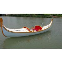 冯氏木船2016新款欧式贡多拉木船 白色贡多拉