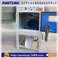 百通电木产品塑胶硬胶产品去毛刺五金件喷涂前处理高效自动喷砂机