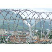 孟业供应铁路阻吓刺绳防护网 螺旋式刀片刺网防爬网