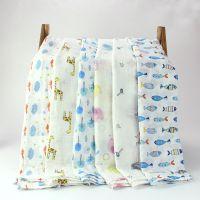 双层水洗纱布襁褓巾