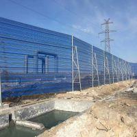 风抑尘网沙石料场挡风抑尘网生产厂家安装方案