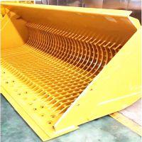 装载机网格斗生产厂家 砂石料筛分装卸 装载量大 适配3050型