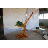 360度旋臂室外吊运机用于车间吊运重物|东弘起重报价销售