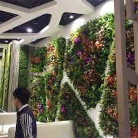 厂家直销仿真植物墙绿植墙草坪人造草皮绿色背景墙