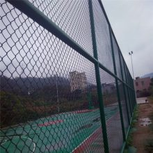 铁丝网护栏 隔离栅护栏 勾花网球场围网