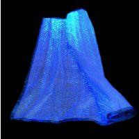光纤发光面料 创意新品LED夜光发亮婚纱 发光鞋子面料