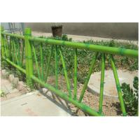 201张家口仿竹篱笆护栏,HC张家口竹节管围栏,组装围墙栅栏,京式道路扶手