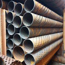井管井壁管273*6钢制桥式滤水管、325*6深井花管实壁管价格