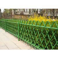 吕梁锌钢道路护栏,吕梁喷塑草坪护栏,Q235烤漆围墙栅栏,仿竹篱笆围栏HC