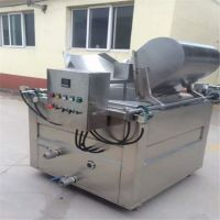 自动翻锅油炸机 膨化零食加工设备 薯片虾条油炸机 宏科售后保障