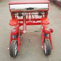 金佳4轮车带玉米播种机 新款玉米种植机械 免耕大豆精播机