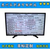 苏州永升源厂家直销园林管理看板 VGA液晶显示RS485通信 自动校时 任务清单显示板