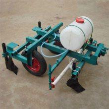 多功能花生种植覆膜机 牵引式全自动花生播种机厂家 富兴施肥打药机价格