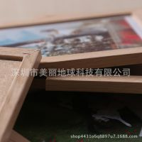 7寸双用相框合相架创意双面玻璃画框影楼相框照片墙木质相框批发