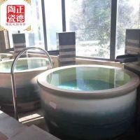 极乐汤泡澡大缸 日式陶瓷泡澡缸