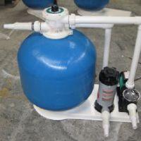 济南环保玻璃钢沙缸 泳池水处理 浴池高效过滤设备 顶式过滤砂缸设备