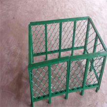 铁丝勾花网 包塑勾花网 边坡防护网