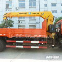 山东济南哪里有东风8吨随车吊 - 31万