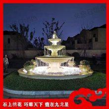 石雕水钵哪里有的买 水钵报价 惠安石雕喷泉批发市场
