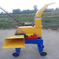 供应大型可移动铡草机 新款4.5吨玉米秸秆干湿青贮铡草揉丝机