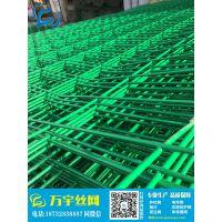 商洛厂家双边丝铁网 工地安全围栏 公路框架护栏网