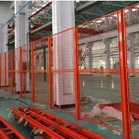宝川供应各类喷塑车间护栏仓库隔离网厂房防护网