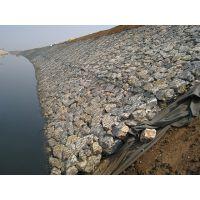 河北专业十年铅丝石笼网,堤坝防护固滨笼生态绿格网用于堤防路基防护工程