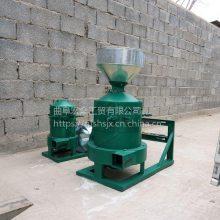 小型高效磨米机五谷杂粮去壳碾米机