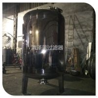 清泽蓝直销 直径1米2不锈钢机械过滤器罐 贵阳立式不锈钢过滤罐厂家 质优价平