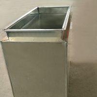 厂家直销 镀锌板 消声静压箱 消声器 镀锌板风管